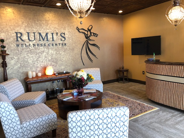 front office of rumis wellness center for holistic, massage, yoga, energy healing, reiki and more in harrisburg, pa